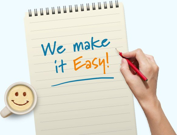 We make it easy!
