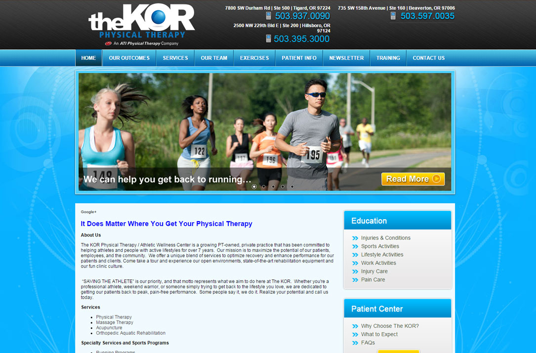 The KOR Physical Therapy