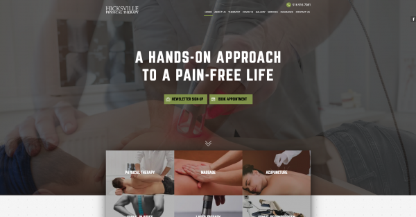6 Best Physical Therapy Website Designs in 2021