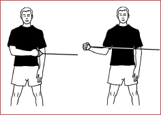 External Rotation shoulder strengthening