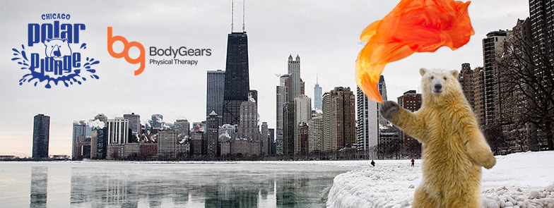 BG PolarPlungeEventPhoto Body Gears Jumps in the Lake for Special Olympics Chicago