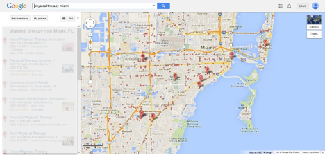 Google Local Listings Affect Your Physical Therapy Clinic