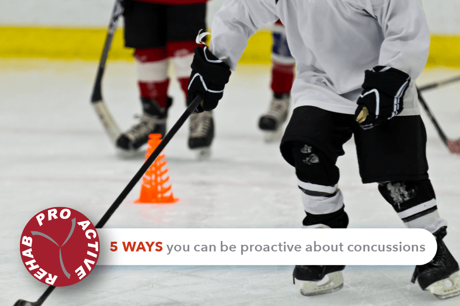 5 ways to be proactive about concussions this hockey season
