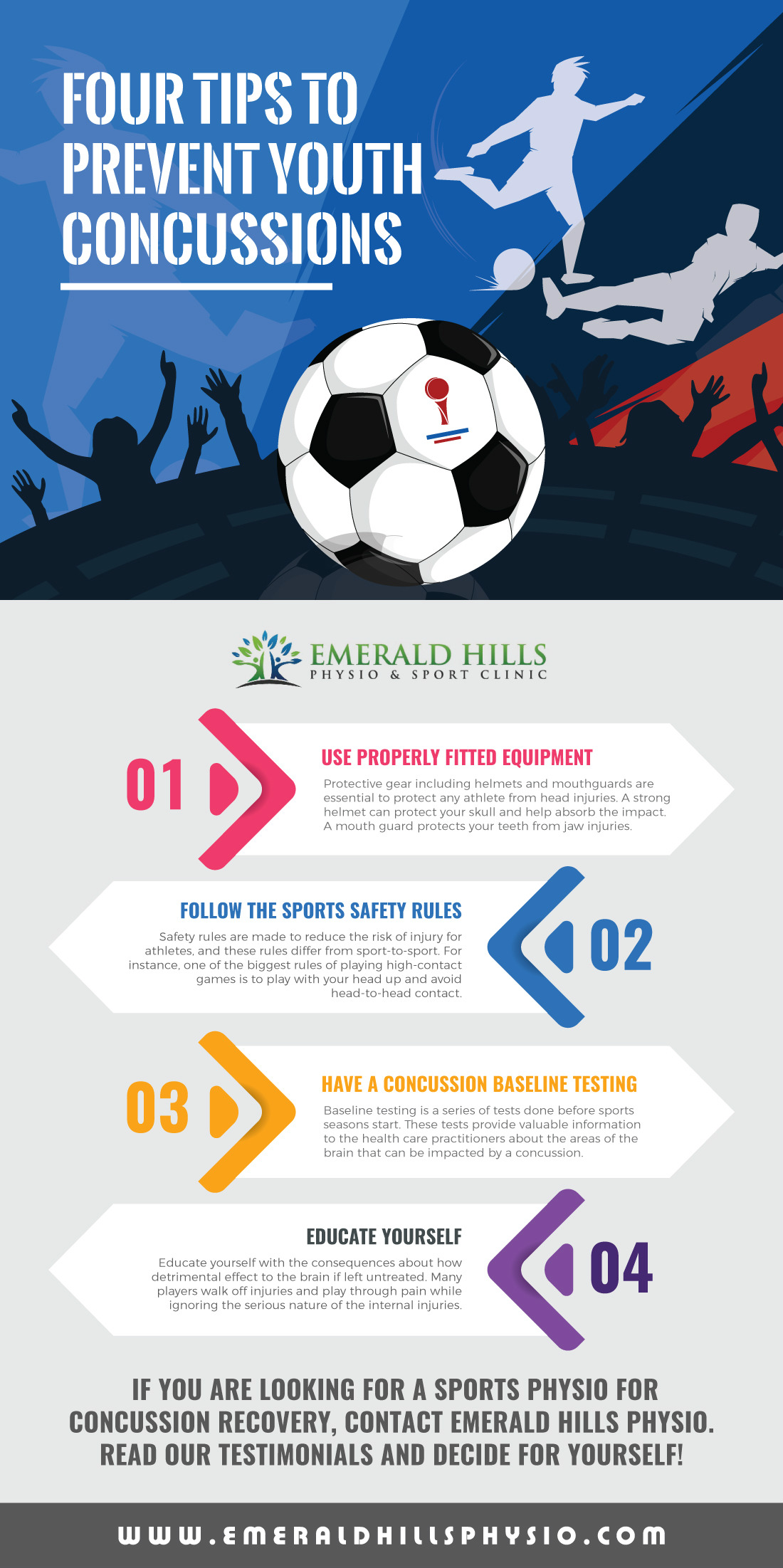 Tips to Prevent Youth Concussions