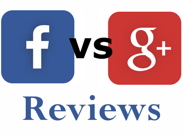 Google+ VS Facebook: Which Reviews Are Most Important?